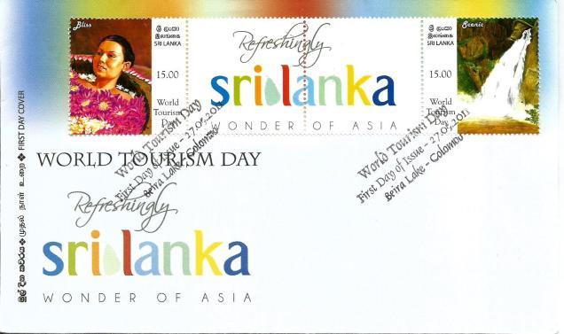SRI LANKA TOURISM FDC 2