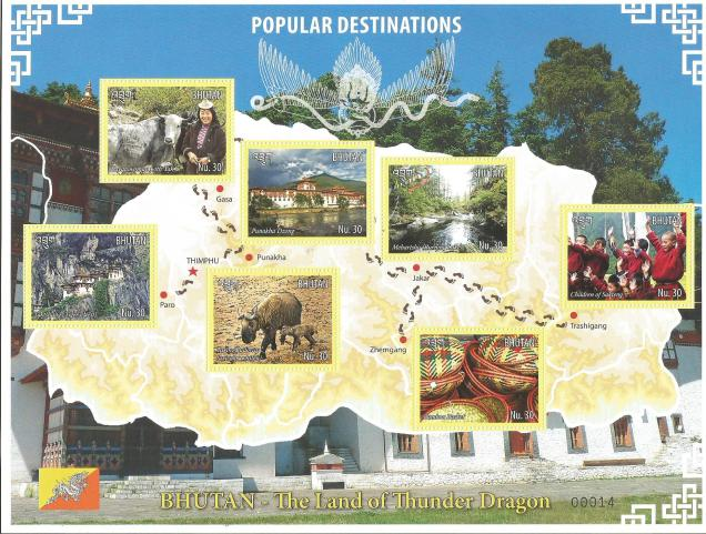 BHUTAN POPULAR DESTINATIONS MS