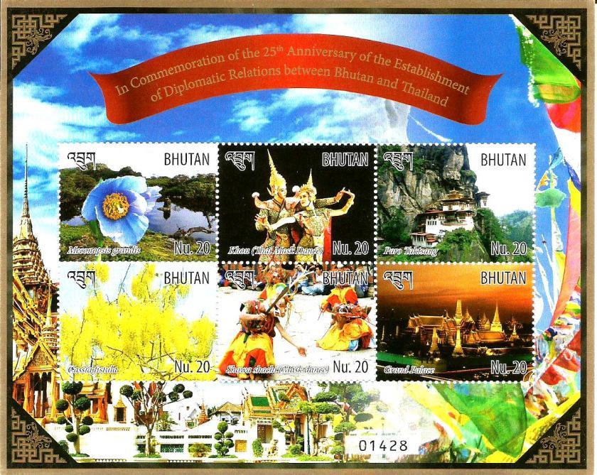 BHUTAN THAILAND MS