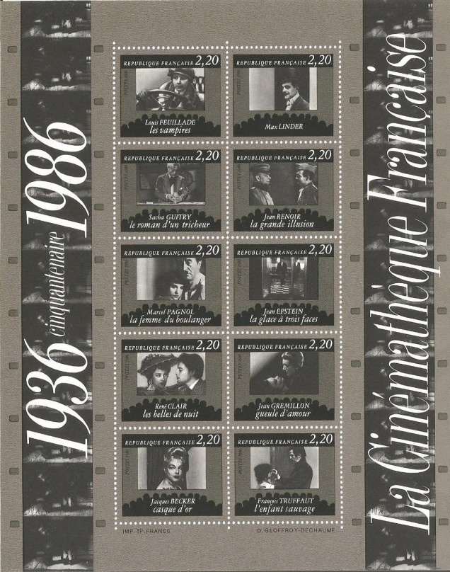 FRANCE FILM INSTITUTE 1986 MS