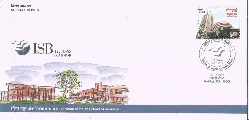 INDIA SPECIAL COVER ISB