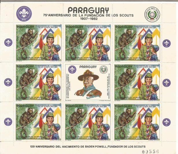 PARAGUAY SCOUTS MS 75TH ANN