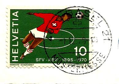 SWITZERLAND FOOTBALL 1970