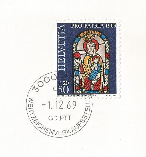 SWITZERLAND GREETING CARD PRO PATRIA1