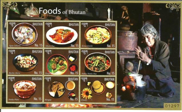 BHUTAN MS 9V FOODS