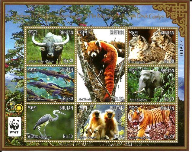 BHUTAN MS FAUNA