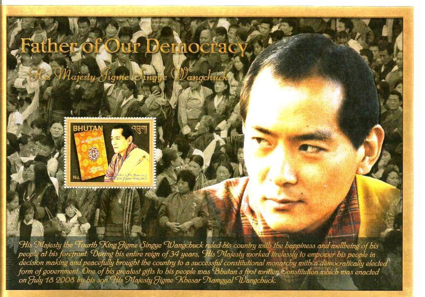 BHUTAN MS KING DEMOCRACY