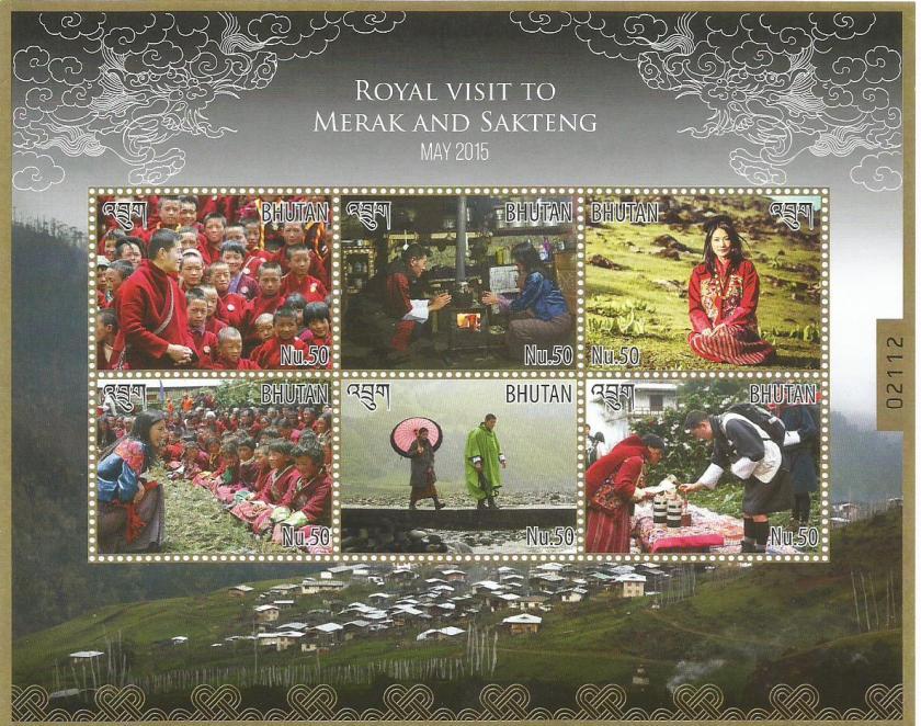 BHUTAN ROYAL VISIT MERAK