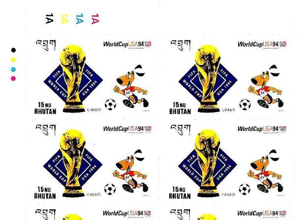 BHUTAN USA 98