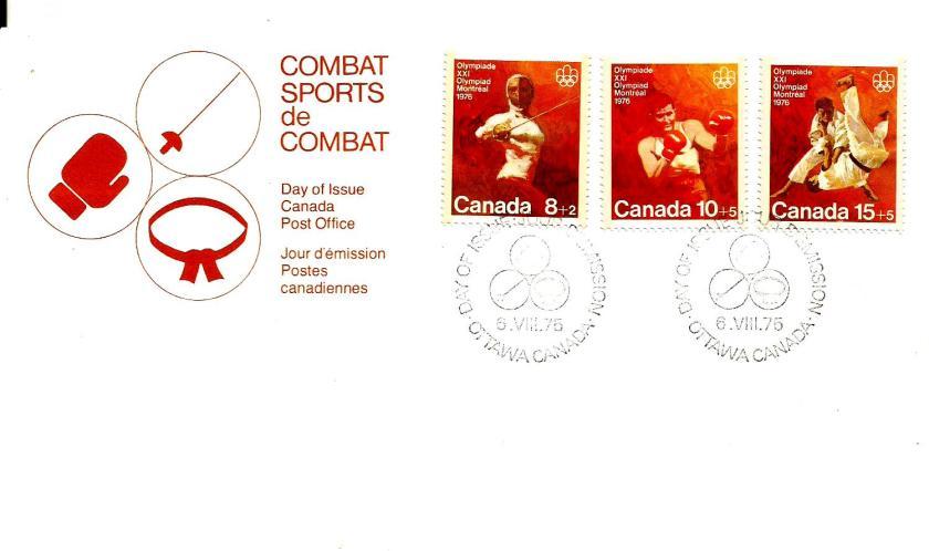CANADA FDC COMBAT SPORTS
