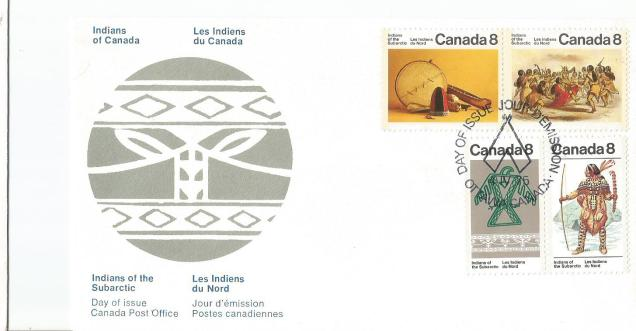CANADA FDC INDIANS