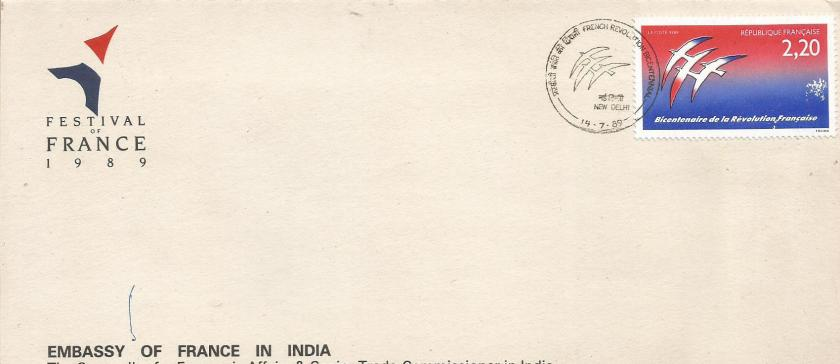 FRANCE FESTIVAL IN INDIA 1989
