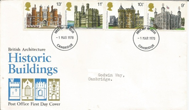 GB FDC HISTORIC BUILDINGS