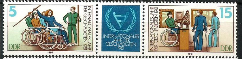 GDR YEAR OF HANDICAPPED