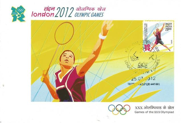 INDIA MC 2012 OLYMPICS BADMINTON