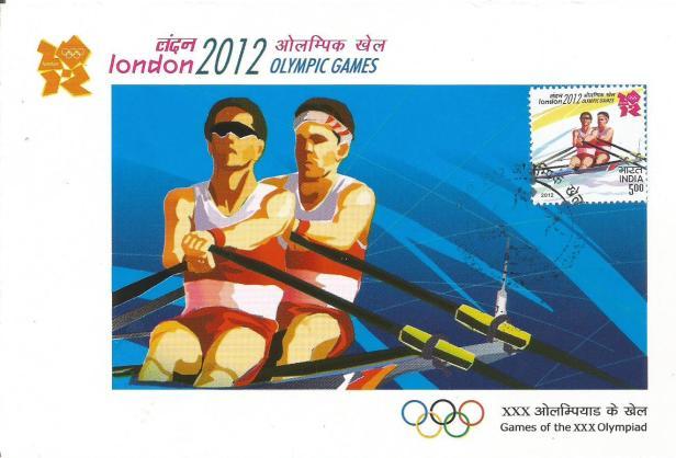 INDIA MC 2012 OLYMPICS ROWING