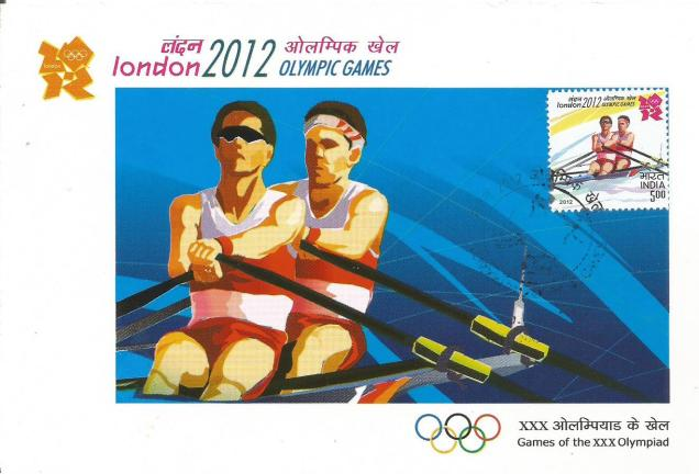 INDIA MC 2012 OLYMPICS ROWING