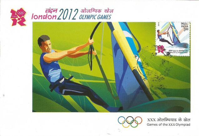 INDIA MC 2012 OLYMPICS SAILING