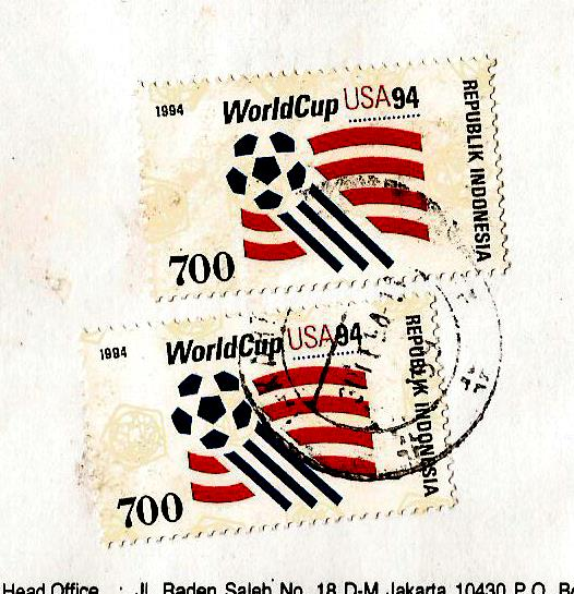 INDONESIA USA WC 1994