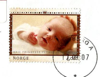 NORWAY ROYAL BABY