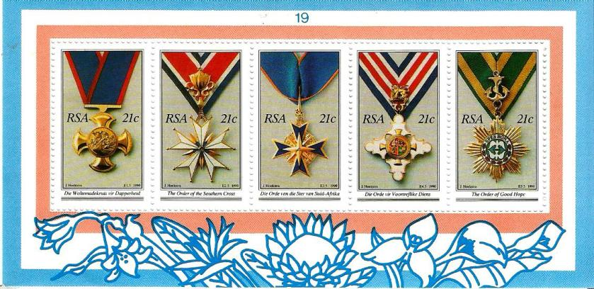 SOUTH AFRICA MS MEDALS