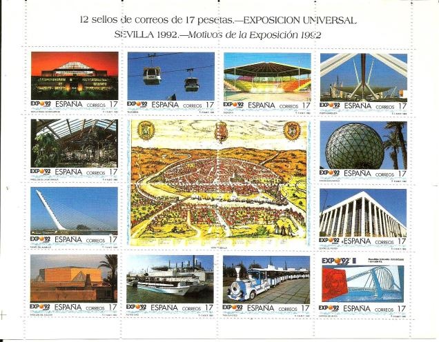 SPAIN EXPO 92 -1