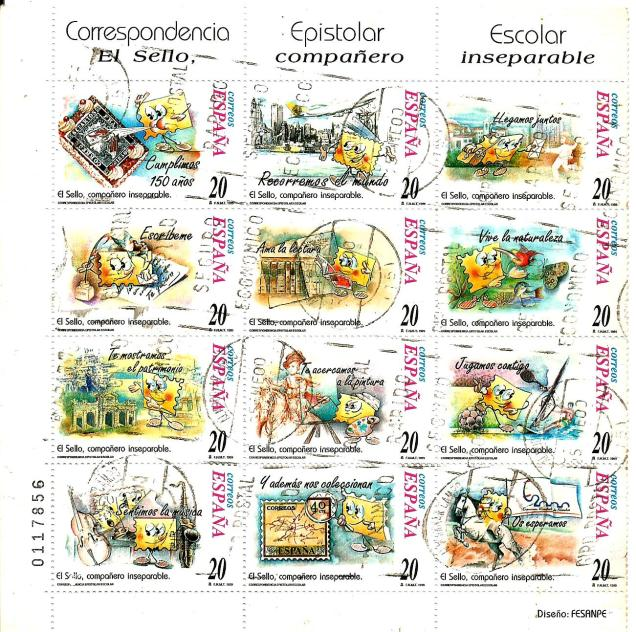 SPAIN PHILATELY MS