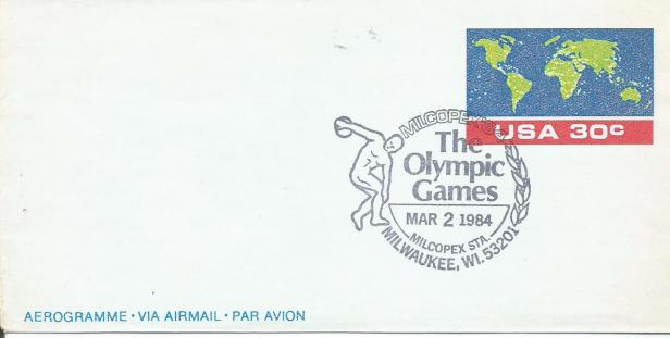US 84 OLYMPICS W MAP AERO MILCO