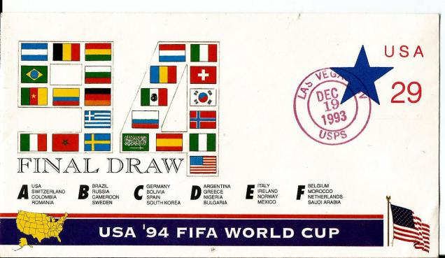 USA FDC 1994 WC
