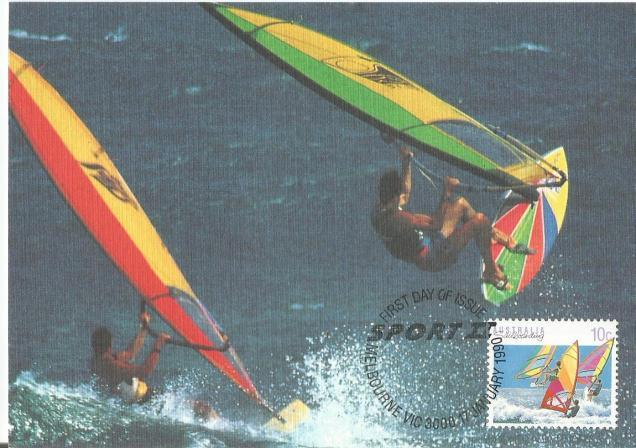 AUSTRALIA SAILBOARDS SURFING