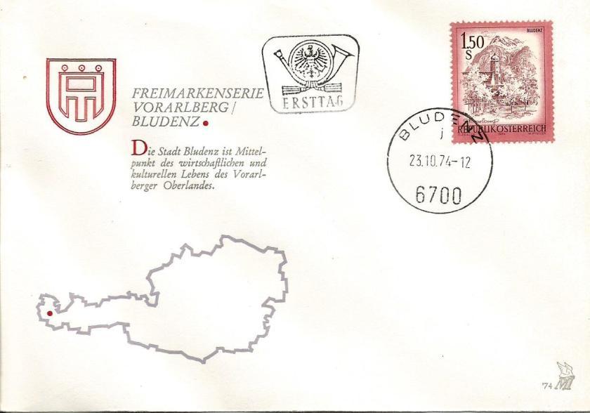 AUSTRIA 1.60 LANDSCAPES