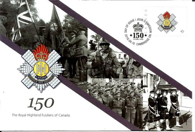 CANADA COMM COVER FUSILIERS