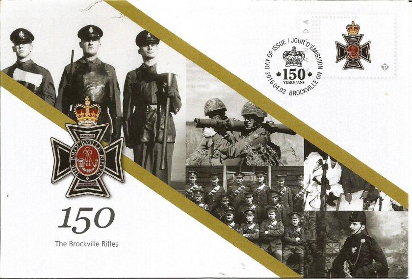 CANADA COVER BROCKVILLE RIFLE