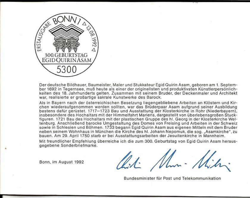 GERMANY ASAM CVR 1992