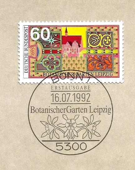 GERMANY BOTANICAL GARDEN 1992