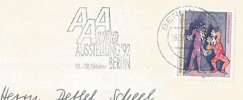GERMANY CANCELLATION MOTOR SHOW