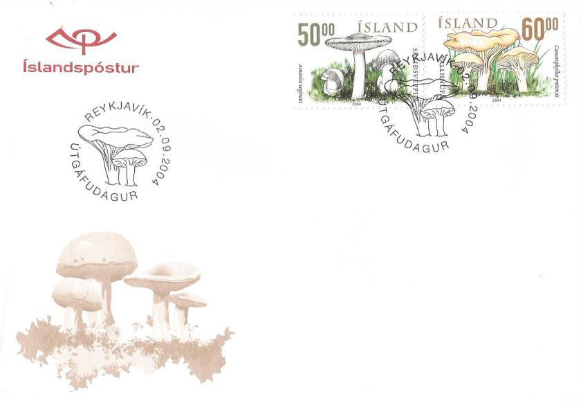 ICELAND FDC MUSHROOM