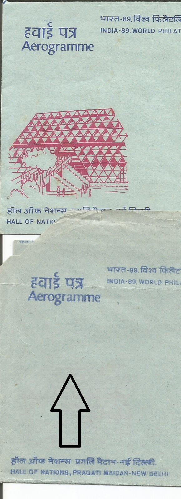 INDIA AERO ERRORS INDIA 89 2