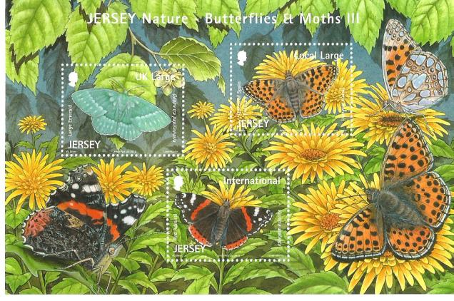 JERSEY MS BUTTERFLIES