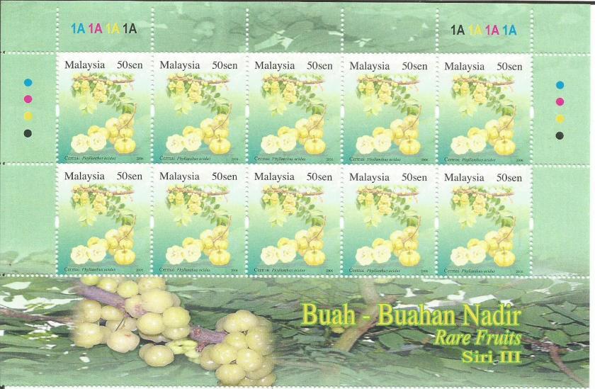 MALAYSIA RARE FRUITS 3 50S