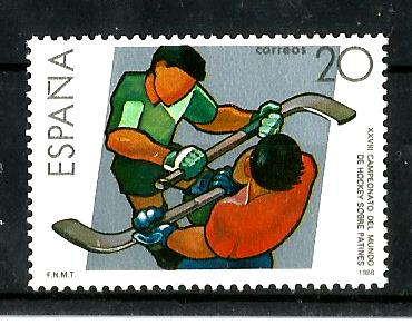 SPAIN ROLLER HOCKEY
