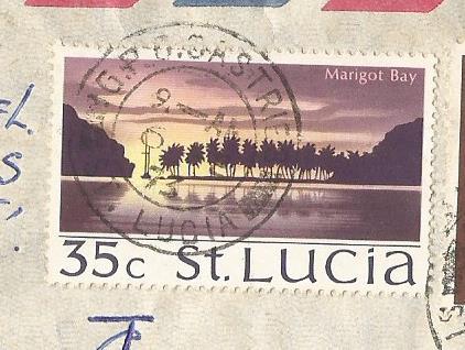 ST LUCIA SCENE