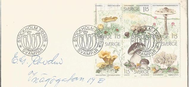 SWEDEN MS MUSHROOMS