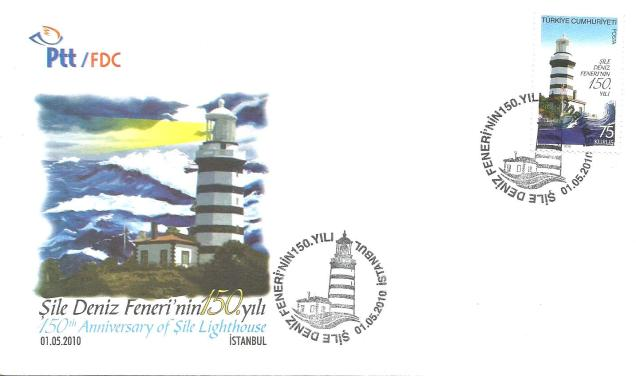 TURKEY FDC 200- SILE LIGHTHOUSE