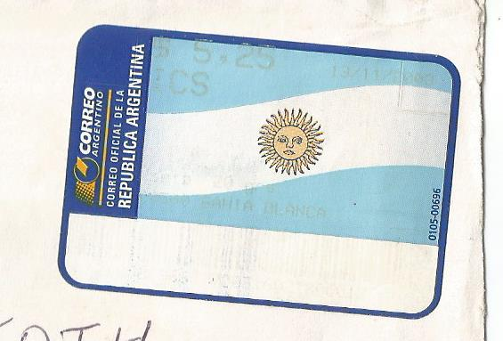 ARGENTINA ATM FLAG