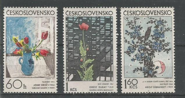CZECHOSLOVAKIA ART WORK