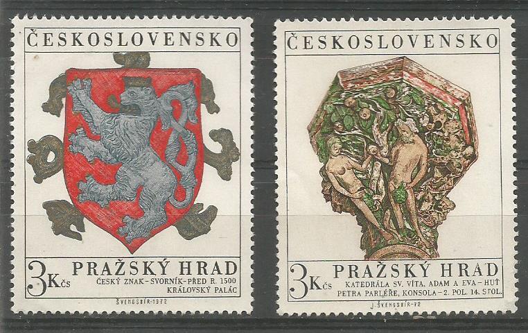 CZECHOSLOVAKIA PRAGUE CASTLE