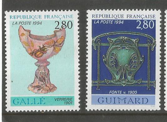 FRANCE 1994 DECORATIVE ART 1