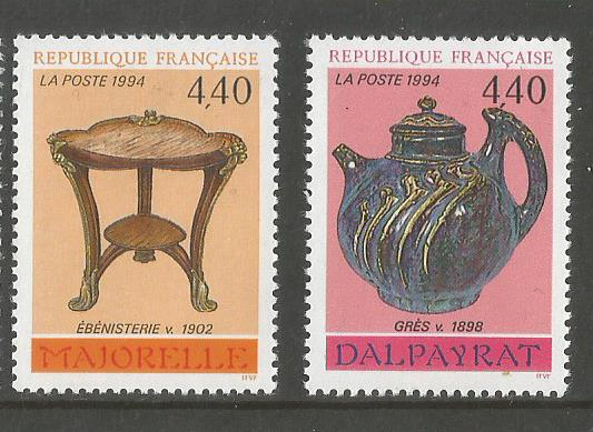 FRANCE 1994 DECORATIVE ART 2