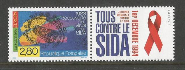 FRANCE 1994 DISCOVERY AIDS VIRUS